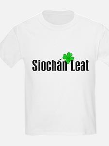 Peace (in Irish) Kids T-Shirt