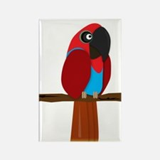 Eclectus Female Rectangle Magnet