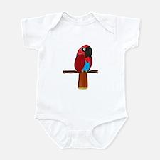 Eclectus Female Infant Bodysuit