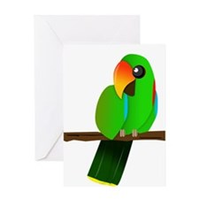 Eclectus Male Greeting Card