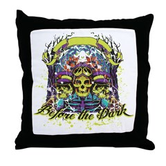 Before the Dark Throw Pillow