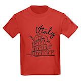 Rome Kids T-shirts (Dark)