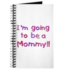 Pink Going to be a Mommy Journal