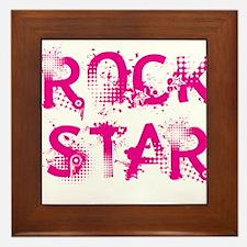 Rock Star Framed Tile