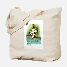 Lucky Cat and Lucky Fish Tote Bag