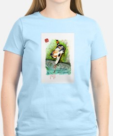 Lucky Cat and Lucky Fish T-Shirt