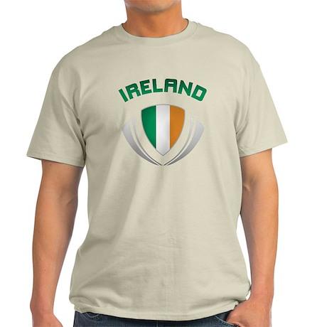 Soccer Crest IRELAND Light T-Shirt