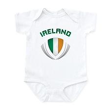 Soccer Crest IRELAND Onesie