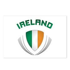 Soccer Crest IRELAND Postcards (Package of 8)