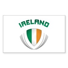 Soccer Crest IRELAND Decal