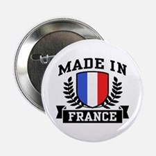 "Made In France 2.25"" Button"