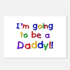 I'm Going to be a Daddy Postcards (Package of 8)