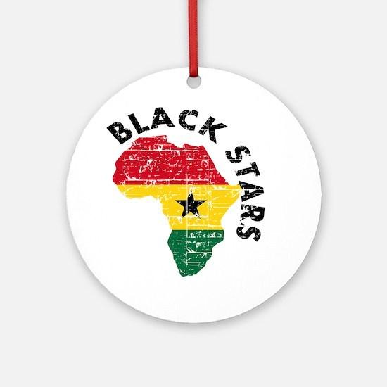 Ghana Black stars Ornament (Round)