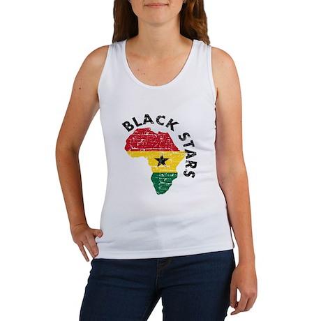 Ghana Black stars Women's Tank Top