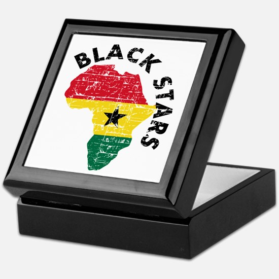 Ghana Black stars Keepsake Box