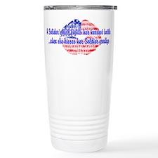 Kisses Goodbye Travel Coffee Mug