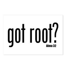 got root? Postcards (Package of 8)