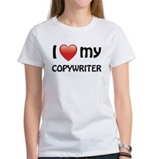 I Love My Copywriter Tee