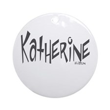Katherine Ornament (Round)