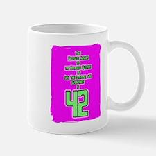 Ultimate Answer-42 Mug