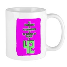 Ultimate Answer-42 Mug