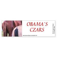 Obama's Czars - Horse's Ass Bumper Bumper Sticker
