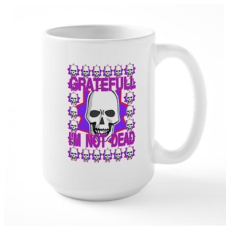 GREATFUL NOT DEAD Large Mug