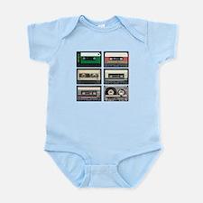 Cassette Tapes Infant Bodysuit