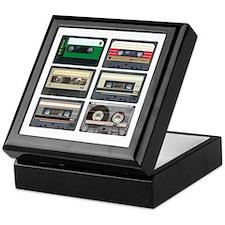 Cassette Tapes Keepsake Box