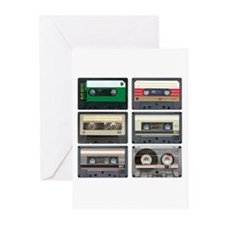 Cassette Tapes Greeting Cards (Pk of 20)