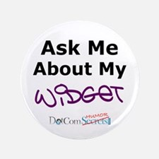 "Ask Me About My Widget 3.5"" Button (100 pack)"
