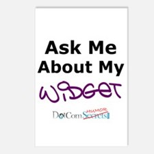Ask Me About My Widget Postcards (Package of 8)