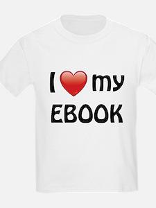 I Love My Ebook T-Shirt