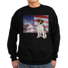 Patriotic Jack Russell Terrier Sweatshirt
