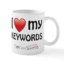 I Love My Keywords Small Small Mug