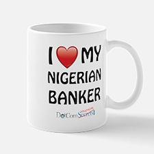 I Love My Nigerian Banker Mug