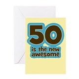 50th birthday Greeting Cards