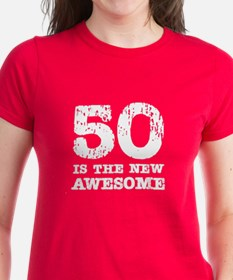 50 Awesome (scratch) Tee