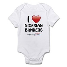 I Love Nigerian Bankers Infant Bodysuit
