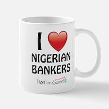 I Love Nigerian Bankers Mug