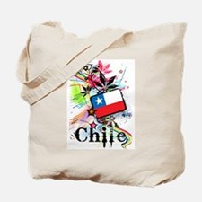 Flower Chile Tote Bag