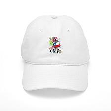 Flower Chile Baseball Baseball Cap