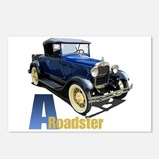 A Blue Roadster Postcards (Package of 8)