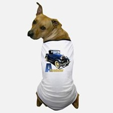 A Blue Roadster Dog T-Shirt