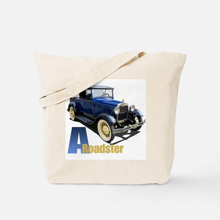 A Blue Roadster Tote Bag