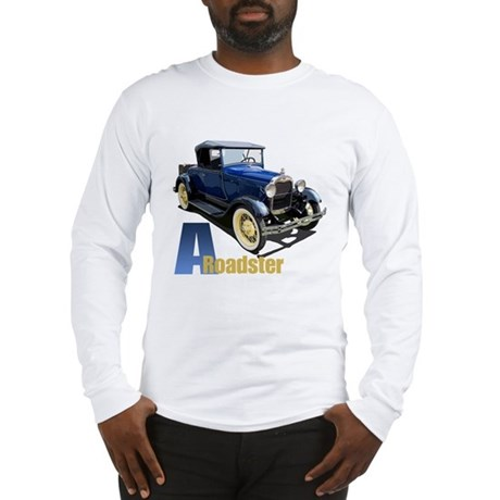 A Blue Roadster Long Sleeve T-Shirt