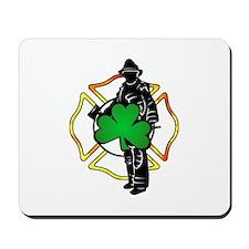Irish Fire Symbols Mousepad