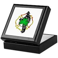 Irish Fire Symbols Keepsake Box