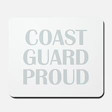 Coast Guard Proud Mousepad