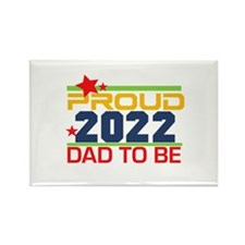 2016 Proud Dad to Be Rectangle Magnet (10 pack)